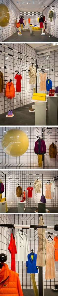 Gloss Creative - Emporium Melbourne In collaboration with Melbourne designer Georgina O'Connor we created three 'Edit Suites' throughout Emporium Melbourne, forming gallery style pop ups, featuring exciting and exclusive product from Emporium. Each suite has it's own flavour, with strong 2D visual elements and sculptural 3D shapes. #glosscreative #visualmerchandising #vm