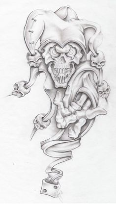 evil jester II by markfellows on @DeviantArt