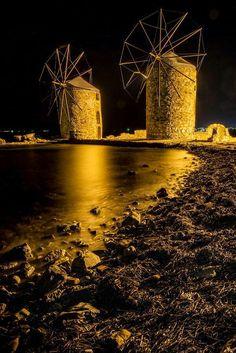 Molinos de Viento. Grecia