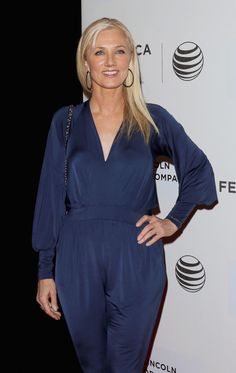 """Joely Richardson attends the 2015 Tribeca Film Festival world premiere narrative: """"Maggie"""" at BMCC Tribeca PAC on April 22, 2015 in New York."""