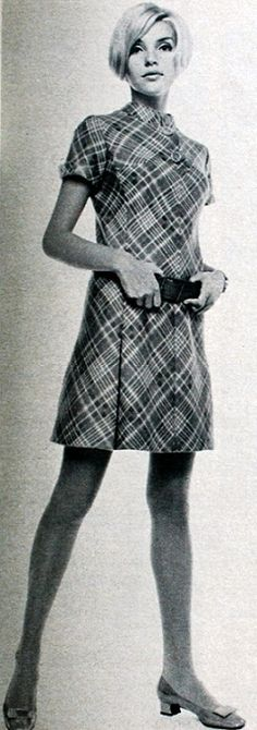Cute mini-dress, Burda Moden 1967