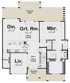 Coastal Plan: 2,917 Square Feet, 3 Bedrooms, 3.5 Bathrooms - 963-00458 Best House Plans, Dream House Plans, Slab Foundation, Floor Plan Drawing, Coastal House Plans, House On Stilts, Cost To Build, Walkout Basement, Building A New Home