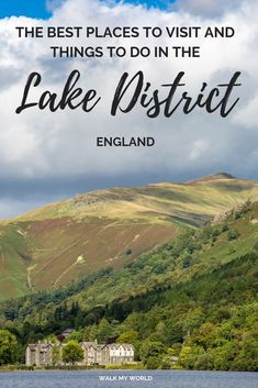 Best things to do in the Lake District, England — Walk My World : The best villages to see and things to do in the Lake District. Including walks, museums, tea rooms and beautiful landscapes. Backpacking Europe, Europe Travel Tips, Travel Advice, Budget Travel, Travel Guides, Bucket List Europe, Bucket Lists, Visit Lake District, Lake District Walks
