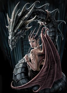 Anne Stokes - Succubus - tribe.