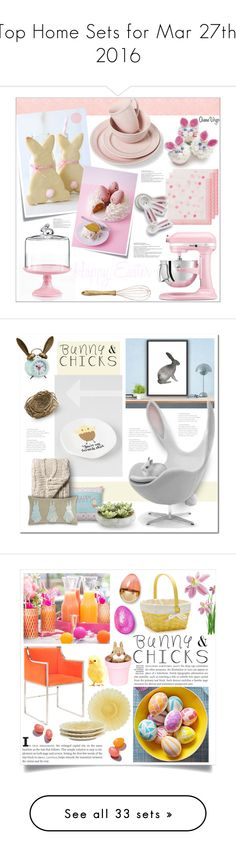 """""""Top Home Sets for Mar 27th, 2016"""" by polyvore ❤ liked on Polyvore featuring interior, interiors, interior design, home, home decor, interior decorating, KitchenAid, Talking Tables, Sur La Table and Nordal"""