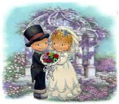brudepar - Google-søgning Clip Art, Bridal, Relationships, Painting, Wedding, Couple, Valentines Day Weddings, Painting Art, Paintings