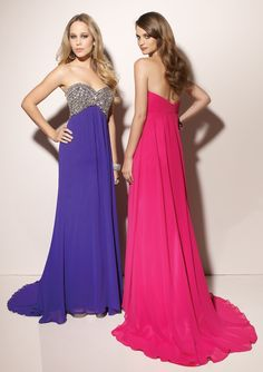 Prom Sweetheart Beadings Chiffon Dress-SOP0005, $168.95