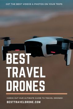 Best Travel Drones - Comparison & Analysis on how to find the perfect drone for travel for your next adventure Gopro Drone, Buy Drone, Drones, Drone Technology, Technology World, Best Travel Gifts, Remote Control Drone, G Photos, World Travel Guide