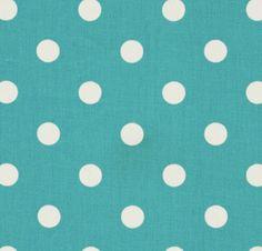 changing pad cover in aqua polka dot by HudsonBedford on Etsy, $20.00