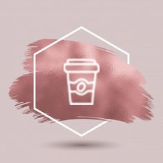 Coffee Icon Icons from GraphicRiver - Instagram Feed Ideas Posts, Creative Instagram Photo Ideas, Instagram Frame, Instagram Logo, Instagram Design, Instagram Story, Coffee Instagram, Vogue Wallpaper, Instagram Symbols