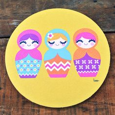 Matryoshka Mouse Pad now featured on Fab.