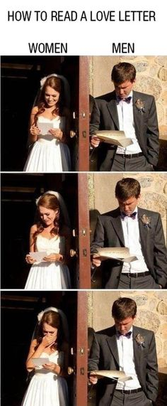 Reading Love Letter   // funny pictures - funny photos - funny images - funny pics - funny quotes - #lol #humor #funnypictures