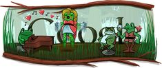 google and the frogs :-P