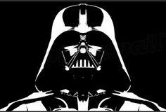 darth vader head silhouette - Google Search