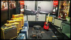Habitación Fender en nuestra tienda Musik Produktiv
