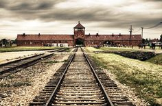 Auschwitz.  Documentation of cursed place.   Documentation of place that one should not forget.  Never Again.
