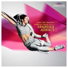 Falling in love with your favorite pair of your enthusiastic, artistic and creative #spandex apparel every time you wear it? Flaunt it with style!