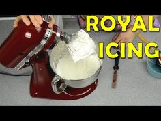 How to Make Royal Icing. Royal Icing Recipe by Cookies Cupcakes and Cardio - YouTube