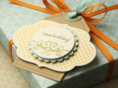 Happy Birthday Gift Tag » Lime Doodle Design