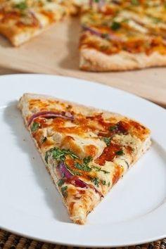 BBQ Chicken Pizza recipe pizza pizza pizza food
