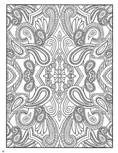 dover coloring pages | Paisley Designs Coloring Book (Dover Coloring Book)_Page_20 (540x700 ... by proteamundi
