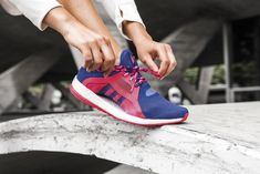 Only Women Get to Wear Adidas' Wild New Shoe | Adidas's newest shoe, the PureBoost X, launches today. It has a flexible, sock-like mesh upper, and a sole made of Adidas's foam Boost technology. It's also designed just for women. | Credit: Adidas | From Wired.com #doputitingear