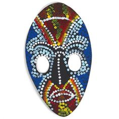 Masque aborigène à créer