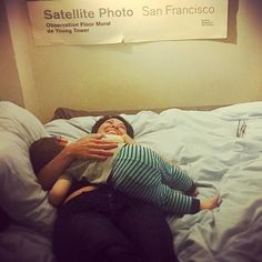 Thank goodness for love  and mothers and sons and friends and laughter and photos and San Francisco