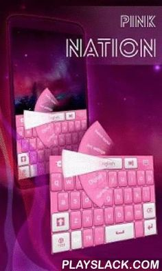 """Pink Nation Keyboard  Android App - playslack.com ,  Because we know you were looking for something pink to sweeten your day, we are very excited about bringing you our latest release: PINK NATION KEYBOARD! DOWNLOAD Pink Nation Keyboard NOW and let the soft bubbly pink make you smile any time you pick up your smartphone! - Follow these 3 easy steps to install: open after downloading, press """"Set as Active Theme"""" and select the theme from the following page!- The awesome HD screenshots we…"""
