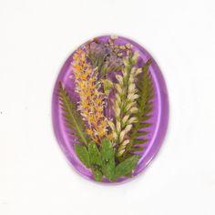 Kaboszon z naturalnych kwiatów. w VITALIJSKY na DaWanda.com