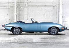 Jaguar E Type - timeless classic.
