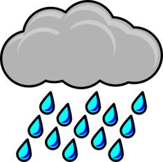 14 best rainy images on pinterest free clipart images calendar rh pinterest com rain clipart free rain clipart black and white free