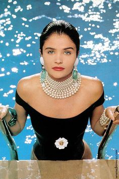 Chanel ~ Spring, 1990  ~ Pearls