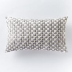 West Elm Woven Ribbon Pillow Cover #westelm http://www.westelm.com/products/woven-ribbon-pillow-cover-t1724/?cm_src=pillows||NoFacet-_-NoFacet-_--_-&