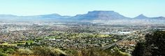 Table Mountain and Cape Town Table Mountain, Nature Reserve, Cape Town, My Dream, City Photo, Places, Lugares
