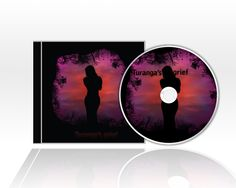 Cover and CD - Kazakh music - made in Abda Creative Agency