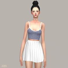 Free Sleeveless at Marigold via Sims 4 Updates