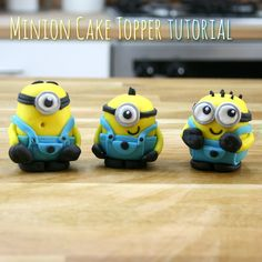 Who loves #Minions? We've got a very special tutorial to share with you! We're Minion mad here at the cake decorating store, so we thought we'd show you how to make your very own Minion #cake toppers! Try it out for yourself with our step-by-step guide: http://www.cakedecoratingstore.co.uk/ideas/minion-cake-topper-tutorial.html