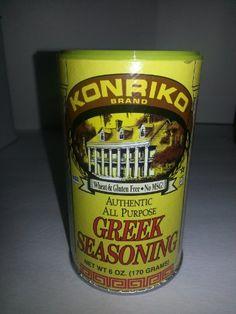 Konriko Authentic Greek Seasoning -- 6 oz Konriko http://www.amazon.com/dp/B003SHBBK0/ref=cm_sw_r_pi_dp_.RRXub1D2566V