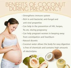 Coconut and pregnancy