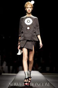 Prada at Milan Fashion Week Spring 2013 September 20th, 2012 11AM via NowFashion.com