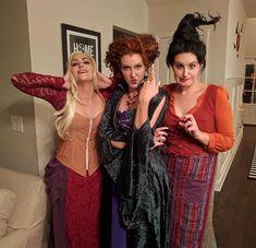 Hocus Pocus Halloween Costumes, 3 People Halloween Costumes, Halloween Costumes Women Creative, 3 People Costumes, Theme Halloween, Halloween Outfits, Halloween 2020, Halloween Parties, Trio Costumes