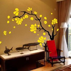 Large wall stickers living room bedroom sofa TV background wall stickers wall stickers magnolia fragrance home accessories - ZZKKO http://zzkko.com/n148973 $ 17.37
