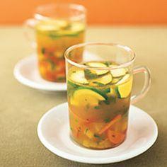 #Healthy #Recipe: Summer vegetable soup