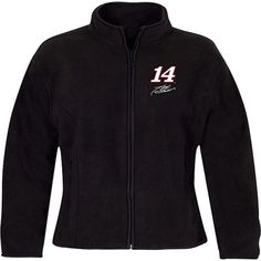 Checkered Flag Tony Stewart Women's Fleece Jacket