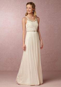 BHLDN Lucia Gown Wedding Dress - The Knot