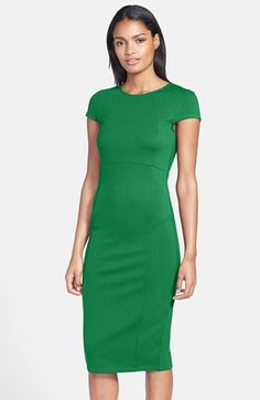 FELICITY+&+COCO+Seamed+Pencil+Dress+(Nordstrom+Exclusive)+(Regular+&+Petite)+available+at+#Nordstrom