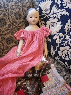 My Red Cape: Jan Conwell's pretty little doll