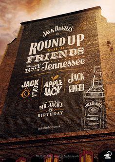 #CreativeFanClub // Jack Daniel's // Mr. Jack's Birthday 2011 #Campaign #Poster