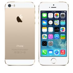 iPhone 5s - 64GB White and Gold